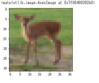 テスト用の鹿